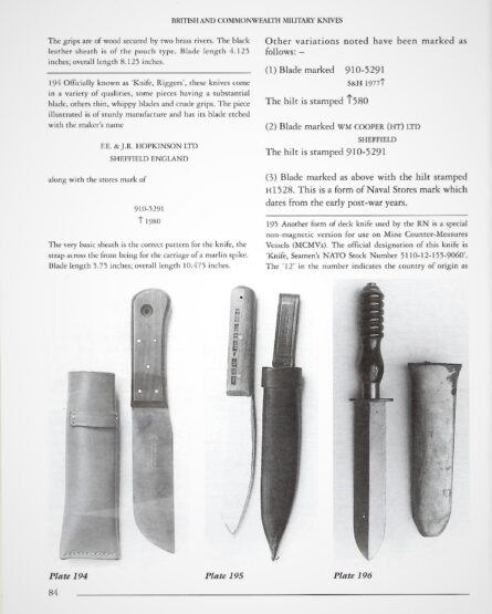 British WW2 Siebe Gorman diving knife