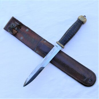 WWW2 American theater fighting knife