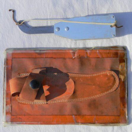Korean War era life raft rescue knife