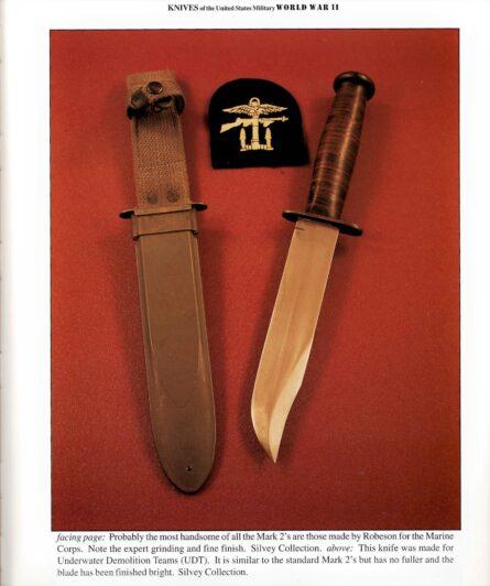 WW2 USN UDT knife
