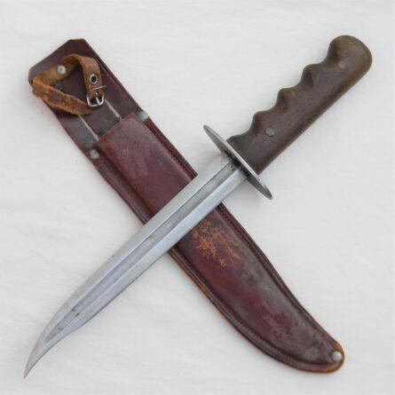 WW2 era Patton Sword blade fighting knife