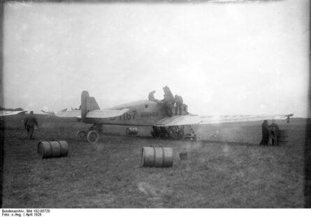 """Junkers W 33 """"Bremen"""" 1928 flight"""