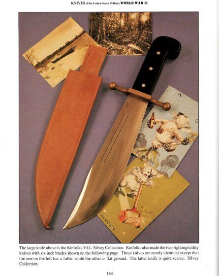 Kinfolks V44 survival knife