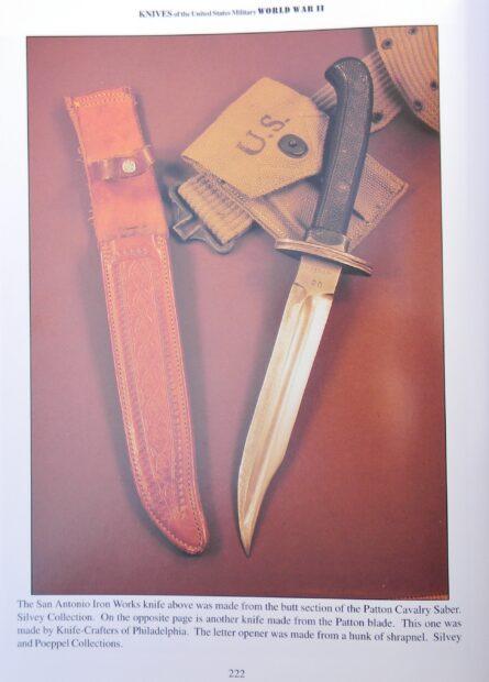 San Antono Iron Works, TX- Patton Saber blade
