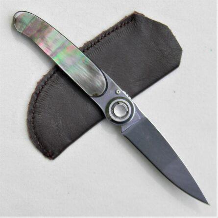 Lone Wolf Paul Executive Knife black pearl