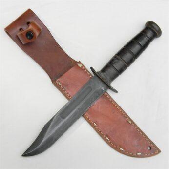 WW2 KABAR MK2 fighting knife