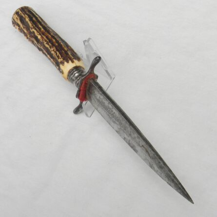 Germany WW1 Campfmesser fighting knife stag