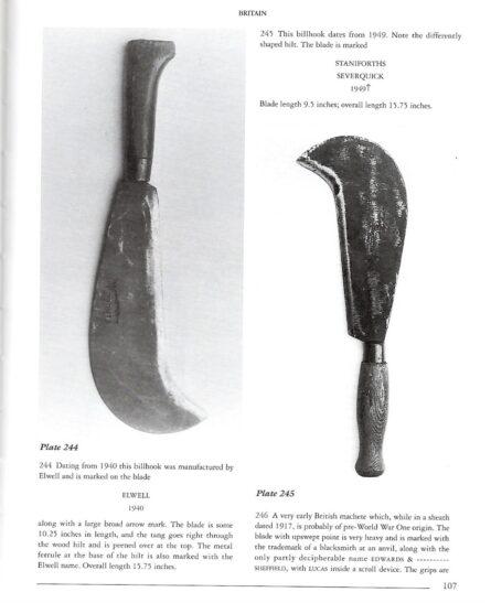 British WW1 billhook machete