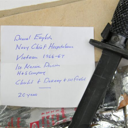 Vietnam War Imperial M6 bayonet