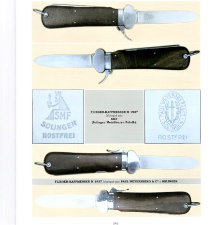 WW2 German paratrooper knives