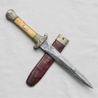 American Civil War fighting dagger by Edward Barnes