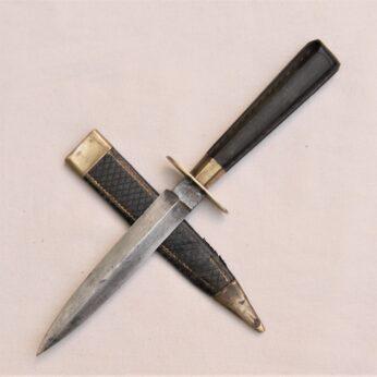 Manson Sheffield fighting knife garter dagger